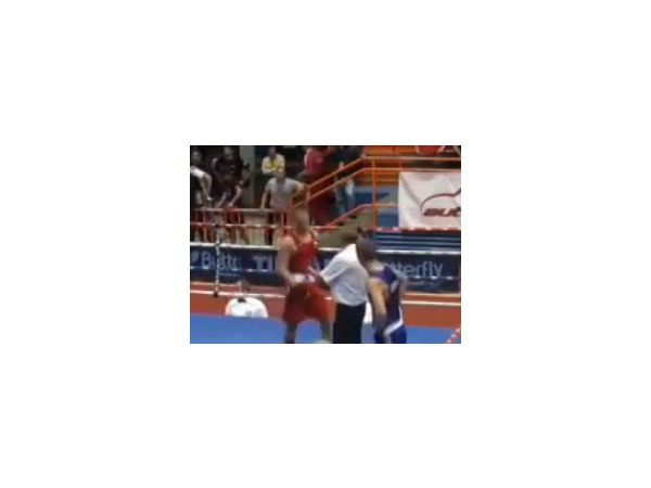 Видео того, как хорватский боксер Видо Лончар избил судью на ринге, посмотрели уже тысячи пользователей
