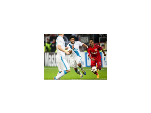 Леверкузенский «Байер» обыграл «Зенит» со счетом 2:0
