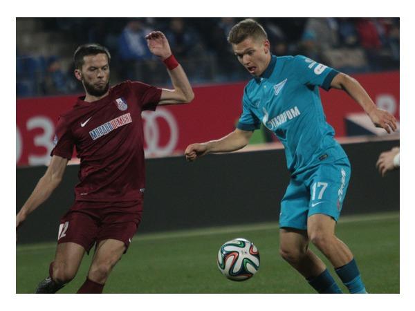 «Зенит» обыграл «Мордовию» со счетом 5:0