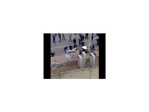 В центре Грозного прогремел взрыв. Медики борются за жизнь смертника