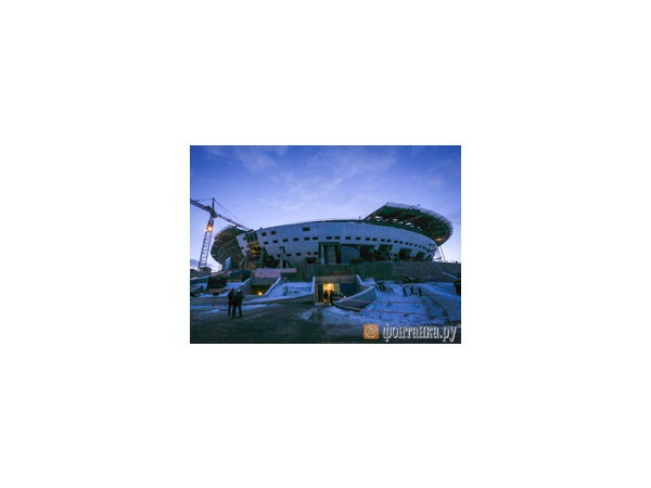 «Трансстрой»: С Нового года поставщики стройматериалов для «Зенит-арены» намерены повысить цены