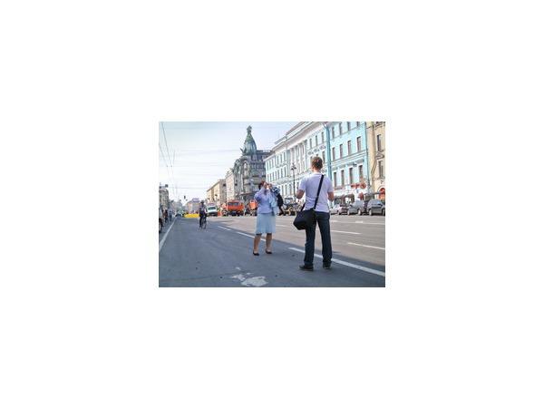 Невский может стать частично пешеходным