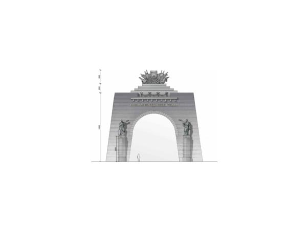 Триумфальная арка начинается с тайны