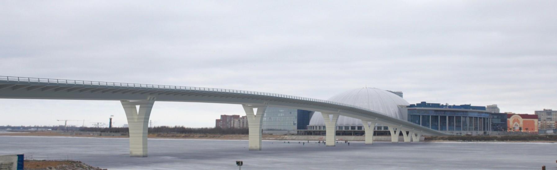 Пешеходный Яхтенный мост