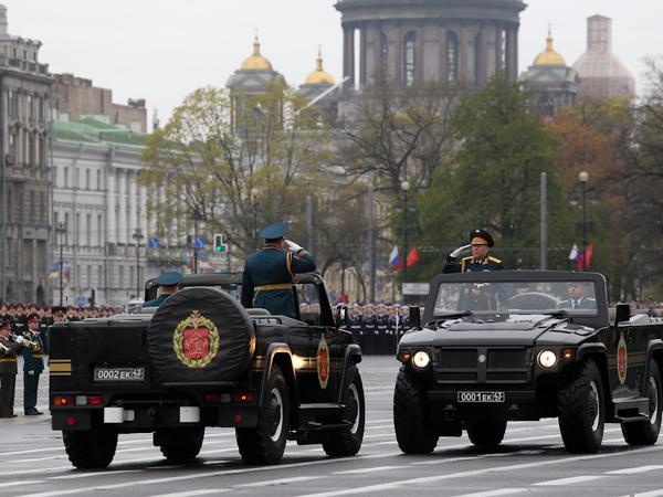 Генеральская рокировка на Дворцовой площади