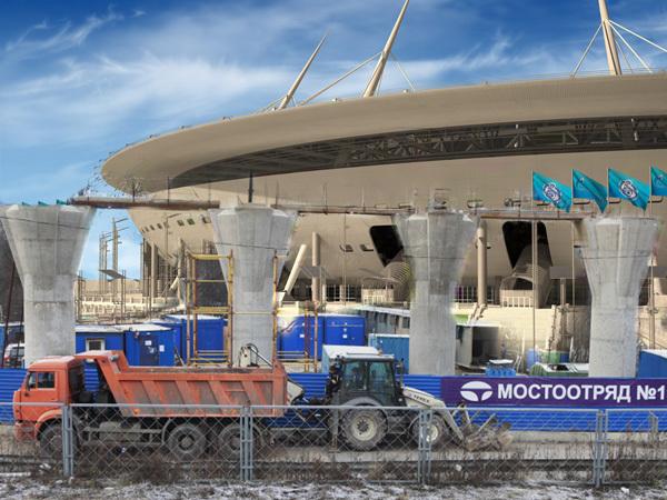 «Мостоотряд-19» подарил «Зенит-арене» новое уголовное дело