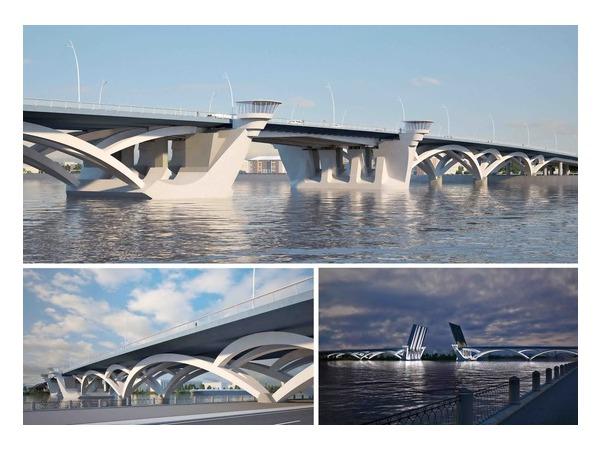 Каким будет мост в створе Коллонтай