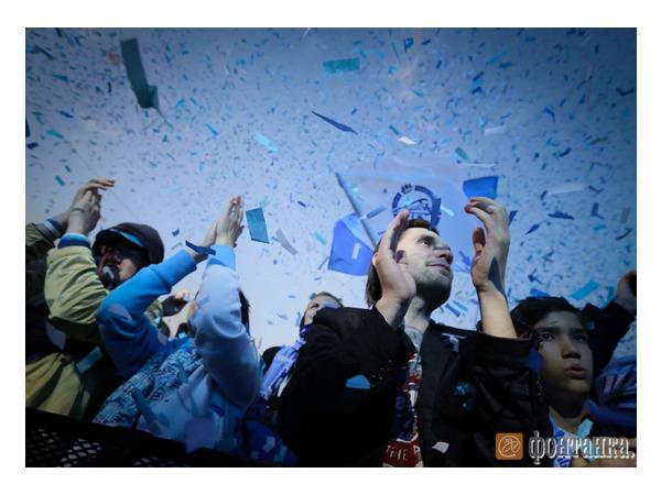 3 тысячи человек пришло поздравить «Зенит» с 90-летием