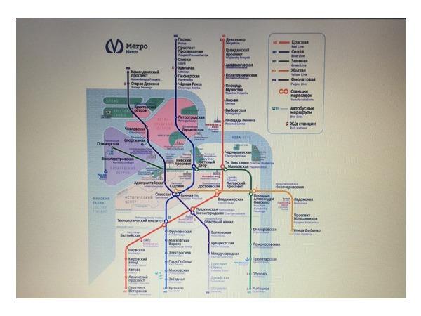 Студия Артемия Лебедева разработала новый дизайн схемы петербургского метро