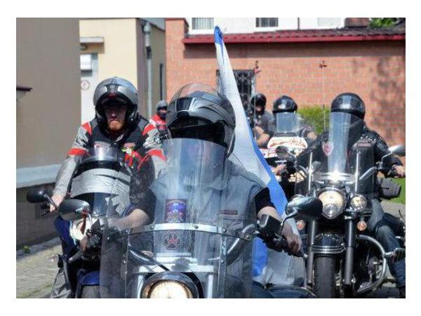 Российские байкеры завершили мотопробег в честь 70-летия Победы