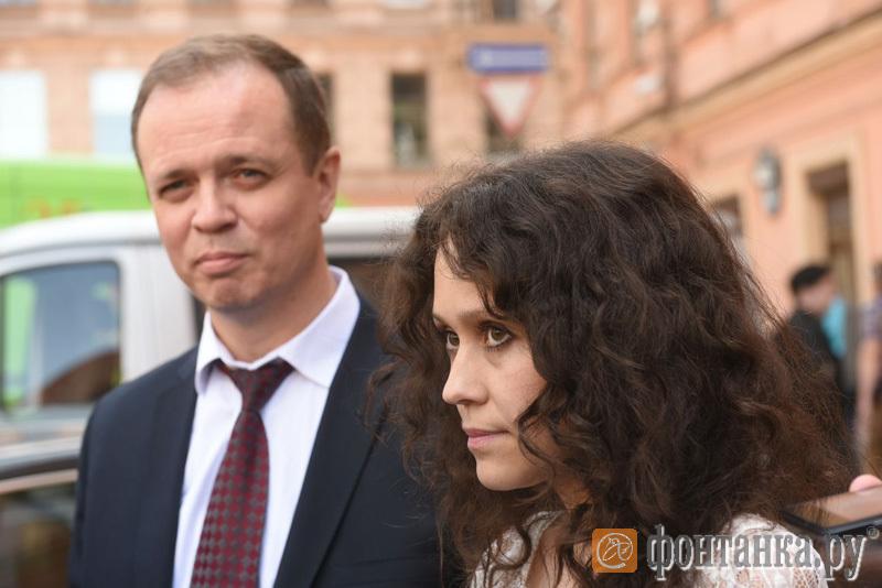 Адвокат Иван Павлов и Людмила Савчук