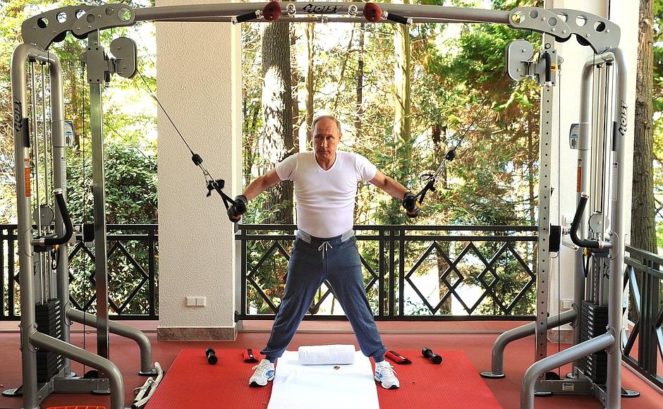Сколько часов в день работает Путин?