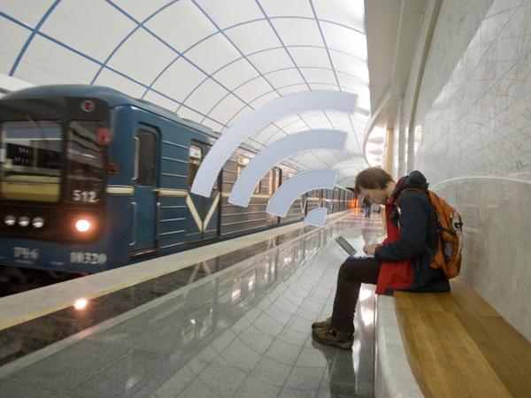 Москвичи проведут Wi-Fi в петербургское метро