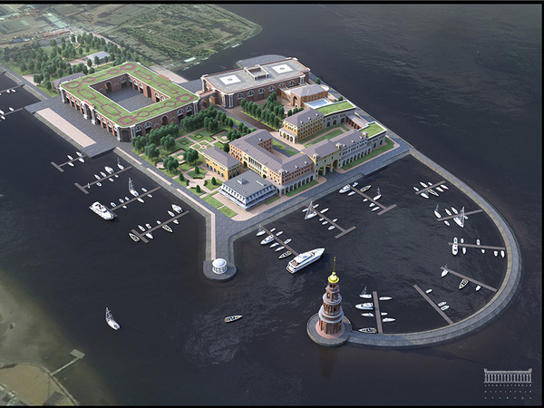 Профсоюзы разбавят яхт-клуб гостиницей и спа