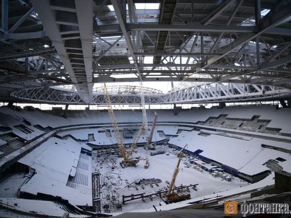 ФИФА может поставить под сомнение «Зенит-арену»