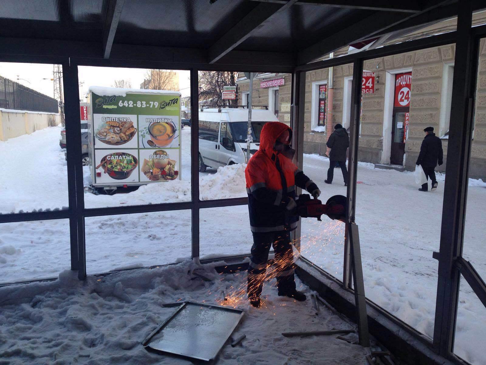 Смольный сносит кафе «Олива» у Финляндского вокзала (Иллюстрация 2 из 2) (Фото: ЦПЭИГИ)