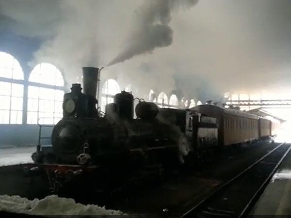На Витебском вокзале снимают «Анну Каренину» с Елизаветой Боярской