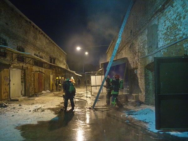 Пожар в Апраксином дворе локализован