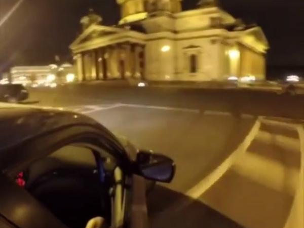 """""""Неприкасаемые"""" опубликовали видео дрифта на Исаакиевской"""