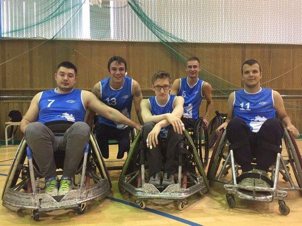 Петербургские регбисты на колясках вошли в пятёрку сильнейших на ЧР