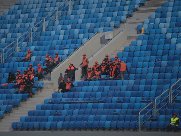 Как в первом матче на Крестовском «строители» победили «Метрострой»