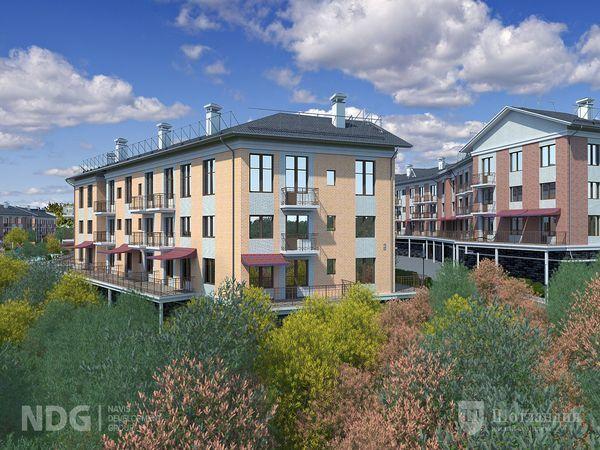 В продажу выходят квартир с каминами и эркерами от Navis Development Group