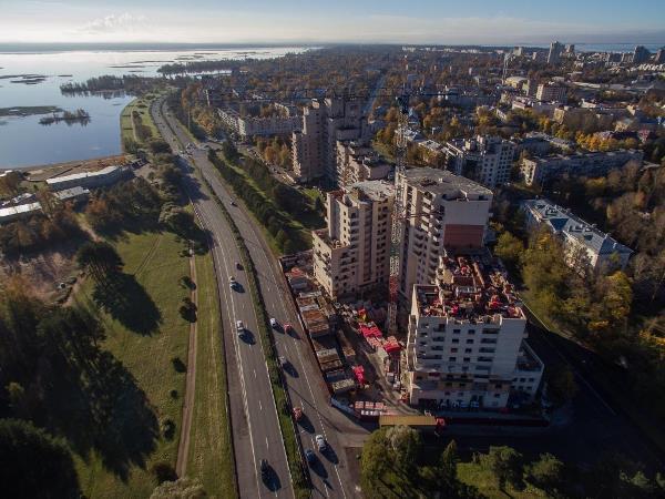 ЖК «Пляж» победил в номинациях «Лучшая строительная площадка» и «Лучший бытовой городок»