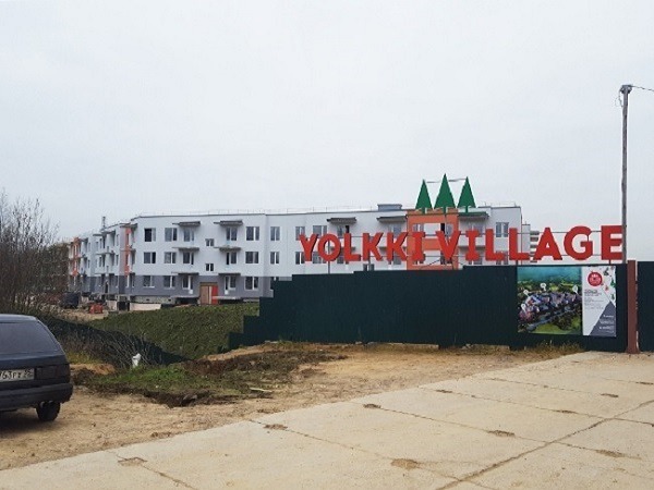 В ЖК Yolkki Village установили павильоны под скважины