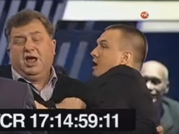 """""""Право голоса"""" на ТВЦ не вышло в эфир из-за драки"""