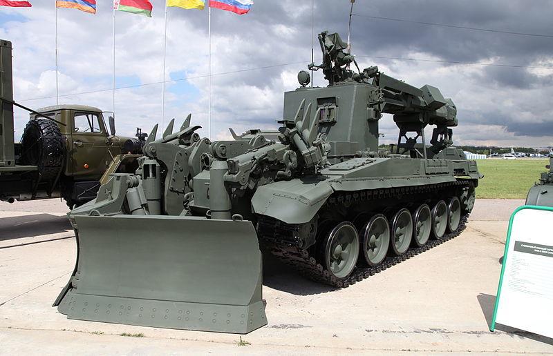 тяжелая машина разграждения ИМР-3М