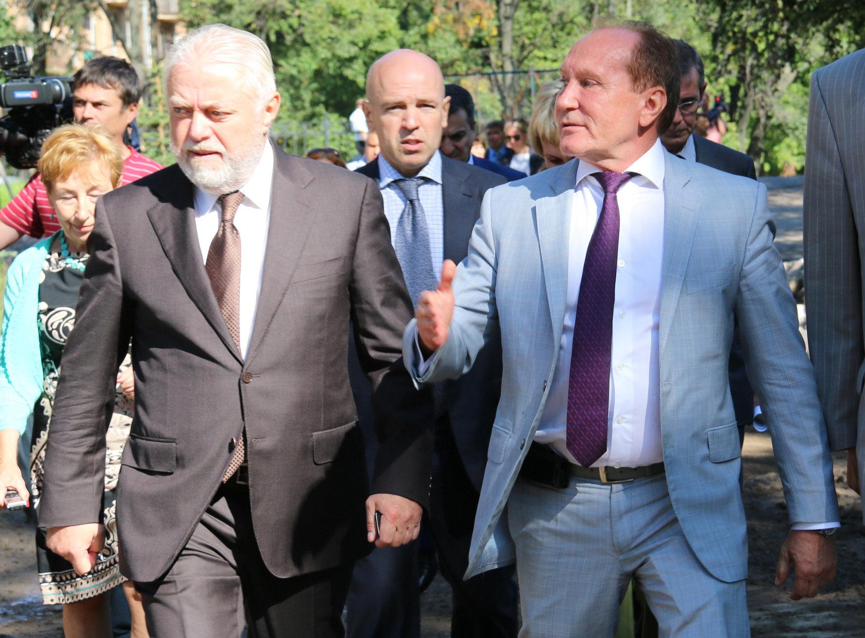 Игорь Дивинский, Константин Серов и Владимир Рублевский