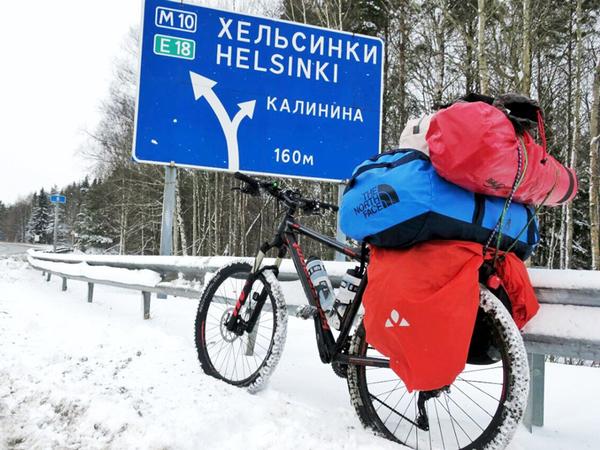 «Почтальон Добра» доставит письма детей к Деду Морозу на велосипеде