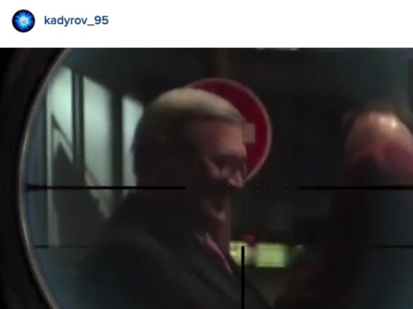 Кадыров опубликовал видео с Касьяновым и Кара-Мурзой в прицеле