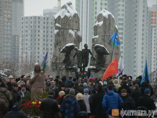 В Петербурге почтили память воинов-интернационалистов