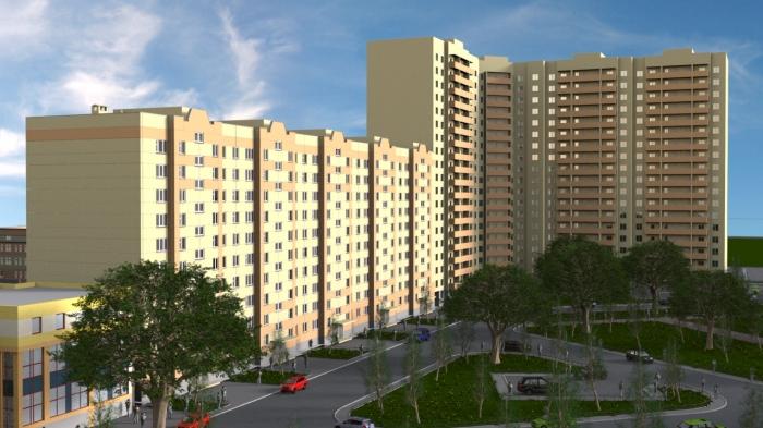 На проекте, опубликованном на сайте строительной компании, видно, что этажей в доме десять
