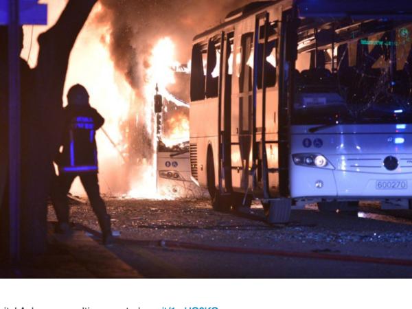 Число погибших при взрыве в Анкаре выросло до 20
