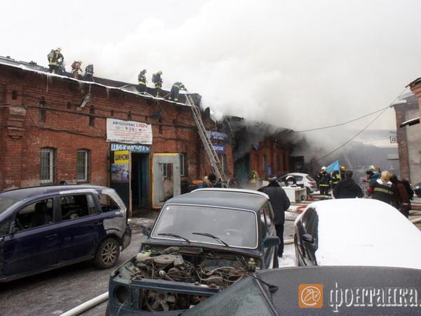 Пожар на Лиговском локализован