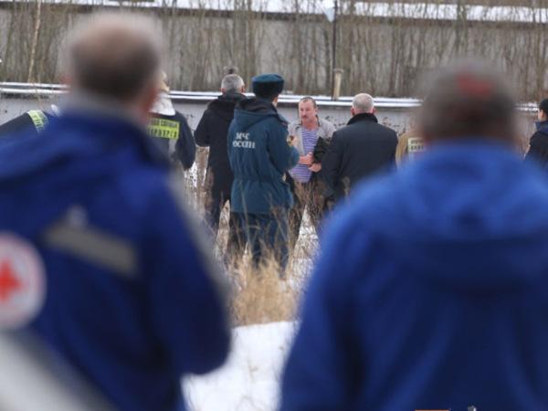 Полиция задержала петербуржца, объявившего о самоподжоге