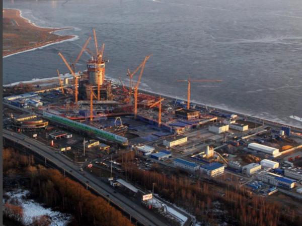 Строительство «Лахта центра»: технологии экономят время