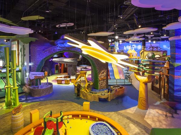 Angry Birds Activity Park предложил новый формат семейного отдыха