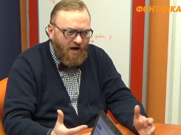 [Фонтанка.Офис]: Милонов спел в защиту церкви