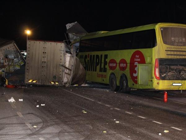 В тяжелом ДТП у Тарту погиб водитель автобуса Рига – Петербург