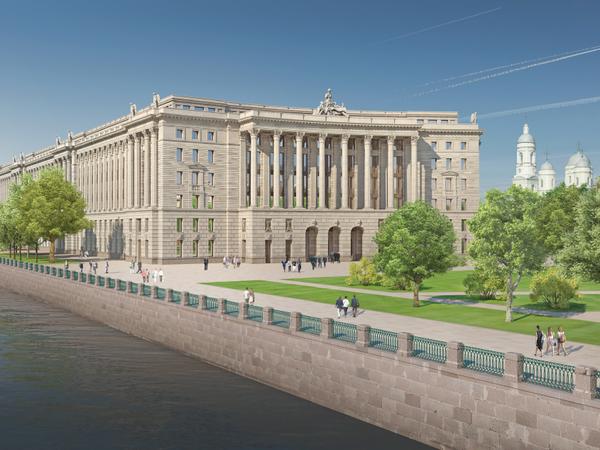 Каким будет комплекс Верховного суда в Петербурге