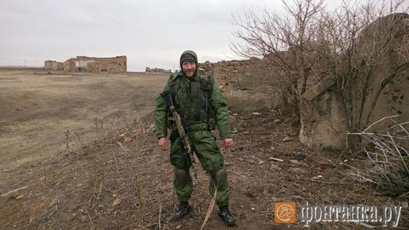 Колганов под Луганском (Фото: читатель