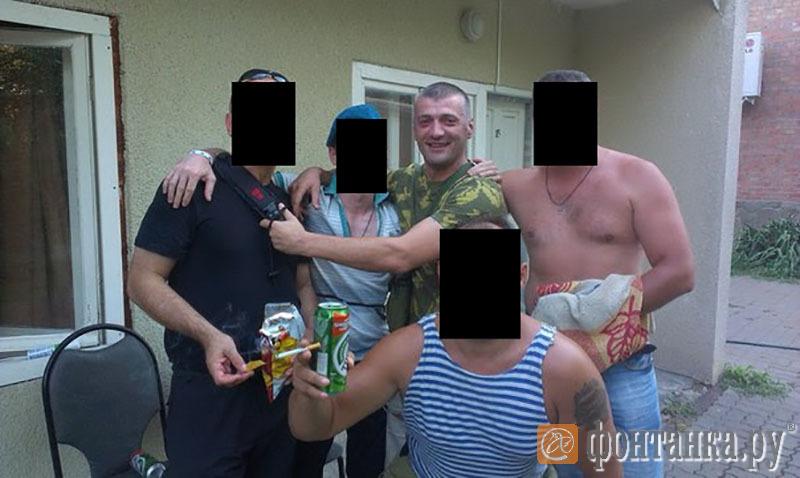 Давор Савичич с бойцами Вагнера (Фото: читатель