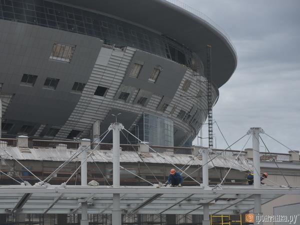 «Трансстрой»: На стадионе мы сотворили чудо