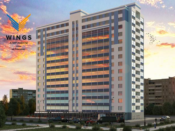 Апарт-отель «Виват» переродился под названием МФК «WINGS апартаменты на Крыленко»