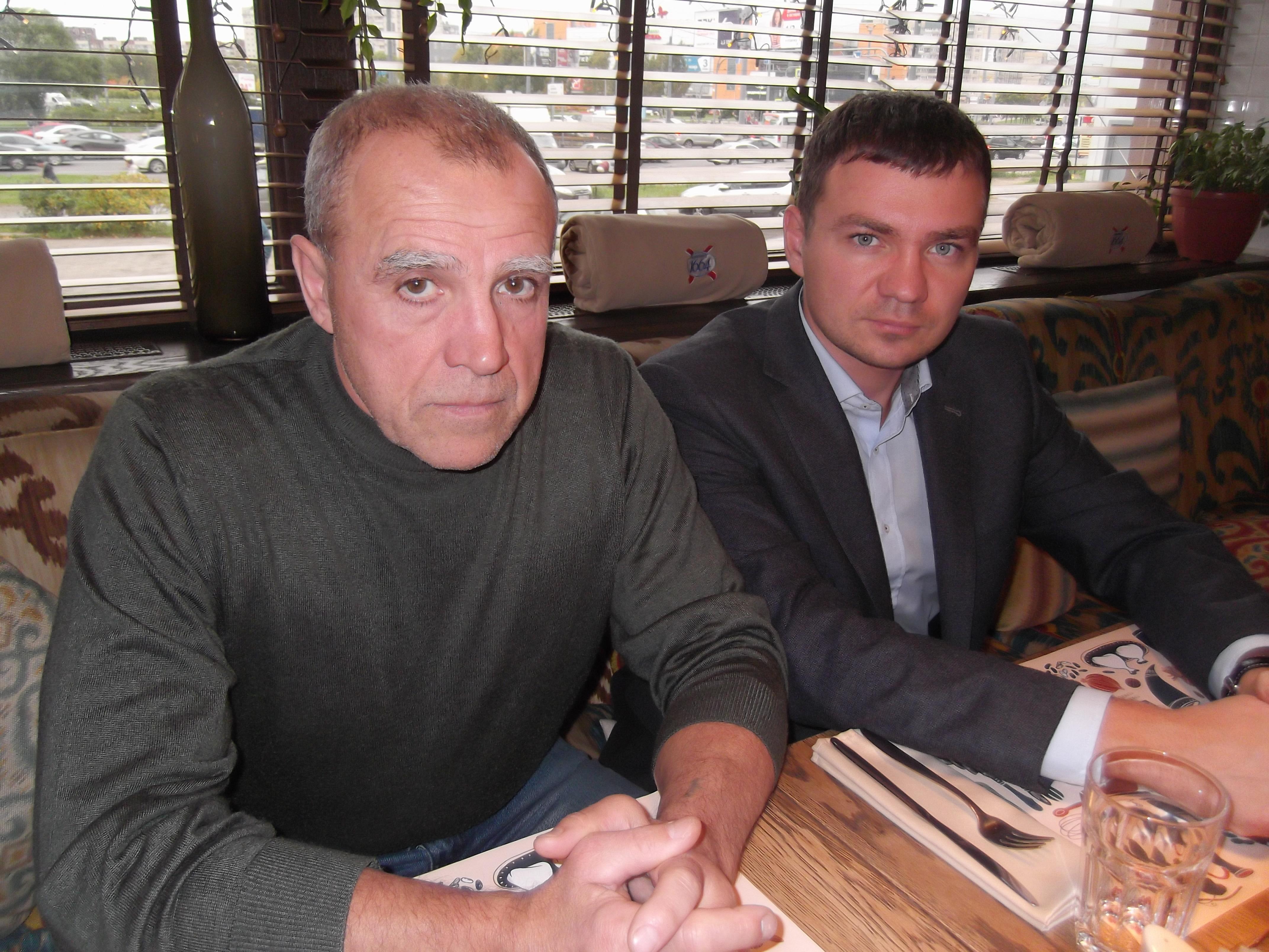 Евгений и Алексей Родины