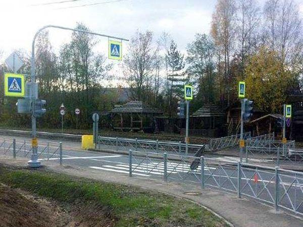 Компания «КВС» завершила реконструкцию поворота на «Новое Сертолово» с Выборгского шоссе