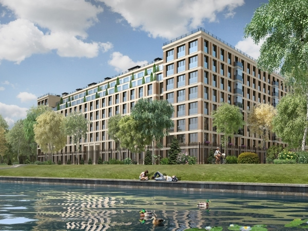 Setl City приступила к строительству детского сада в ЖК «Петровский. Квартал на воде»